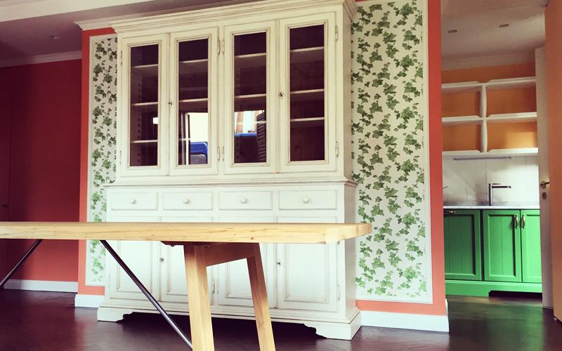 Sala da pranzo con tavolo in rovere - Rivoli